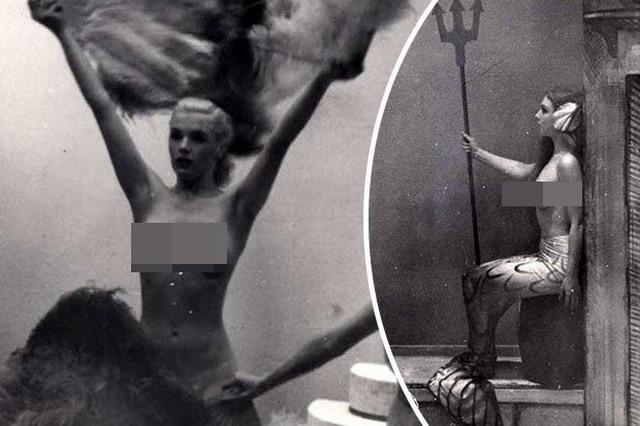 Lần đầu công bố ảnh nghệ sĩ múa khỏa thân năm 1950 ở Anh - ảnh 1