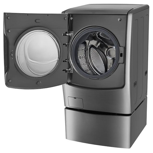 LG trình làng máy giặt lồng đôi đầu tiên - ảnh 1