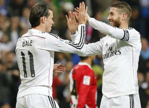 "a�?A?a??i caa�? Real: Ramos a�� Bale A?m m?�u ""ha?? ba��"" Ronaldo - 2"
