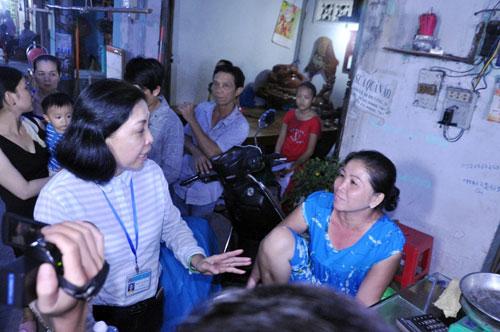 TP.HCM: Vỉa hè khác lạ sau khi bà nữ chủ tịch phường đi qua - ảnh 6