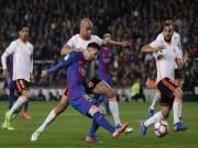 Bóng đá - Barcelona - Valencia: Thẻ đỏ & 6 bàn thắng tưng bừng