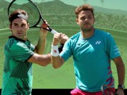 Thể thao - Federer – Wawrinka: Tinh hoa của tượng đài bất tử (CK Indian Wells)