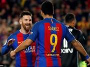 Barca: Lập cú đúp, Messi cán mốc 40 bàn