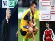 """Wenger  """" xin """"  ở lại, Arsenal chờ tin Ozil, Sanchez"""