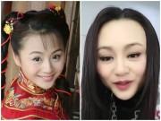 Làm đẹp - Hoảng vì mặt biến dạng của mỹ nữ cổ trang Trung Quốc