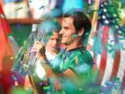 Thể thao - Tennis 24/7: Federer lập cú đúp kỉ lục ở Indian Wells