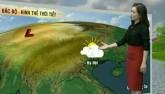 Dự báo thời tiết VTV 20/3: Đêm nay, Bắc Bộ có mưa rào và dông