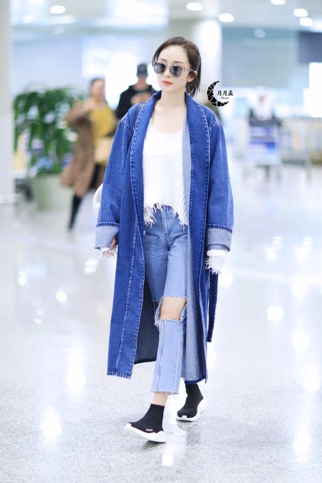 Style này khiến Dương Mịch bị nhầm vẫn ở tuổi 9X - ảnh 5