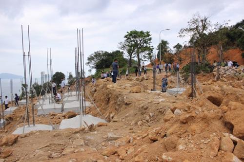 Phạt chủ đầu tư dự án đào xới bán đảo Sơn Trà 40 triệu - ảnh 1