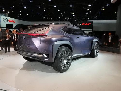 Lexus UX sắp thành hiện thực, dựa trên Toyota C-HR - ảnh 3