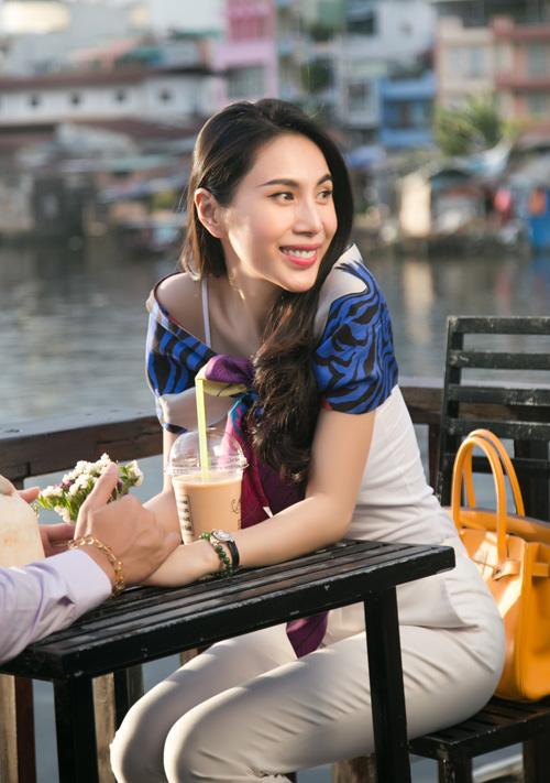 Cuộc sống vợ chồng Thuỷ Tiên lên truyền hình quốc tế - ảnh 3