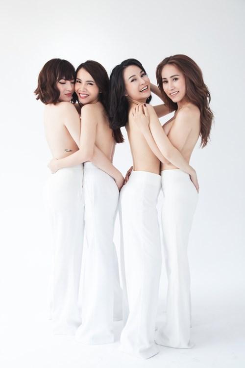 Giận nhau 10 năm, Yến Trang bất ngờ chụp ảnh nude cùng Mây Trắng - ảnh 2
