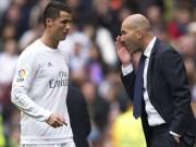 """Bóng đá - Zidane """"đe"""" Ronaldo: Quyền lực tối thượng của """"gã hói"""""""