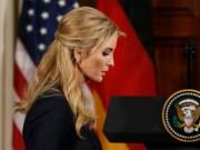 """Con gái Trump ngày càng mở rộng  """" quyền hành """"  ở Nhà Trắng"""
