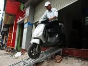 Tin tức trong ngày - Những bậc tam cấp chuẩn nhất Hà Nội sau cơn lốc giành lại vỉa hè