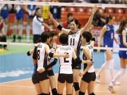 Bóng chuyền nữ: Thái Lan  quần tơi tả  Nhật Bản