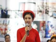 Thể thao - Hoa hậu Ngọc Hân tranh tài giải Việt dã toàn quốc