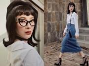 """Thời trang - Angela Phương Trinh lạ lẫm với phong cách """"cô giáo"""""""