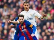 """Bóng đá - Quyền lực đen Real – Barca: Ronaldo """"ngửi khói"""" Messi"""