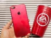 Dế sắp ra lò - HOT: Đập hộp iPhone 7 Plus màu đỏ rực vừa ra mắt