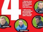 Bóng đá - Barca rút gọn 4 ứng viên HLV: Có Koeman, không Allegri