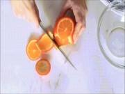 Ẩm thực - Mẹo cắt cam cực hay ho bạn nên biết