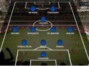 Bóng đá - Siêu đội hình thế giới đối đầu: Messi lép vế Ronaldo