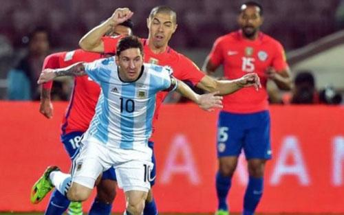 Argentina – Chile: Trông cả vào Messi