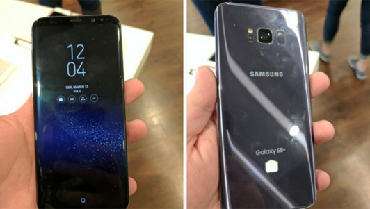 Trên tay Galaxy S8 Plus màu xám, trợ lý ảo Bixby