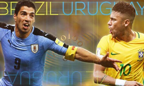 Uruguay – Brazil: Chờ đợi vũ điệu Samba bùng cháy