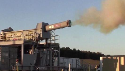 Xem siêu súng điện từ gấp 6 lần âm thanh của Mỹ khai hỏa