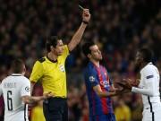 Bóng đá - Trọng tài thảm họa trận Barca - PSG: Fan cãi vã kịch liệt vì UEFA