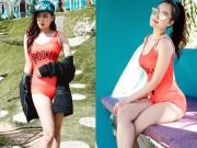 Mỹ nhân Việt gây sốt với ảnh bikini... trên núi lạnh 11 độ C