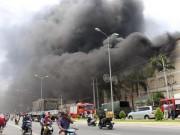 Tin tức trong ngày - Hàng trăm cảnh sát dập đám cháy dữ dội ở Cần Thơ