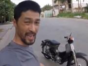 """Thế giới xe - Johnny Trí Nguyễn """"khoe"""" Honda Cub đời 1979 độ công phu"""