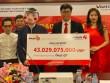 Xổ số Vietlott: Một người Hà Nội đeo mặt nạ chú tễu nhận 43 tỉ