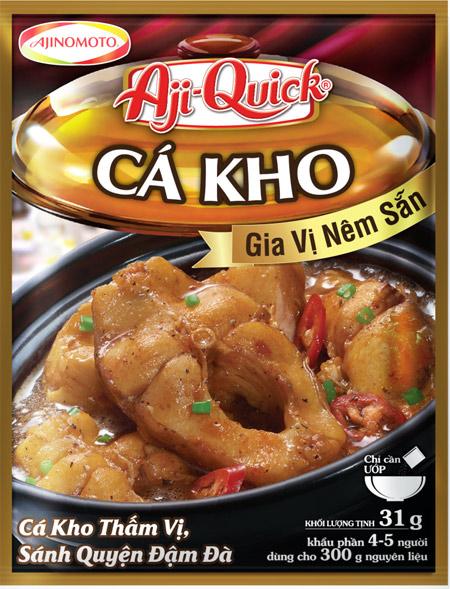 Kho thịt, cá vừa dễ vừa ngon cùng Aji-Quick Món kho. 1