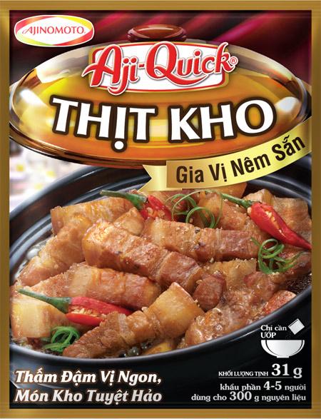 Kho thịt, cá vừa dễ vừa ngon cùng Aji-Quick Món kho. 2