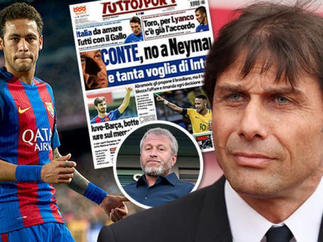 Sốc: Chelsea mua Neymar 200 triệu bảng, chia tay HLV Conte