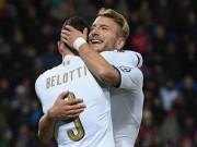 """Italia - Albania: Soi  """" hàng hot """"  hét giá hơn cả Messi"""