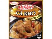 Kho thịt, cá vừa dễ vừa ngon cùng Aji-Quick Món kho