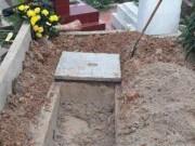 Sự thật tin nam thanh niên đào mộ tìm vàng thỏi trong nghĩa trang