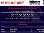 Xổ số Vietlott tìm ra  tỉ phú  thứ 21 với jackpot  khủng