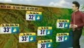 Dự báo thời tiết VTV 24/3: Bắc Bộ nắng oi trước khi đón không khí lạnh