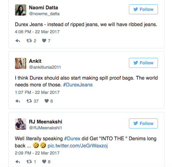Không chỉ mỗi bao cao su, Durex còn có quần jeans nữa - 4