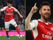 """Arsenal lại thêm  """" đám cưới hụt """" : Messi, Ibra và Suarez"""