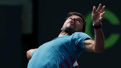 Miami Open ngày 2: Wawrinka thắng thần tốc ngày ra quân