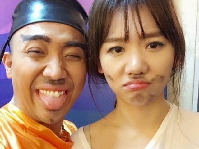 Hari Won diện váy đỏ xẻ cao ngút ngàn, táo bạo hơn gái 18 - ảnh 11