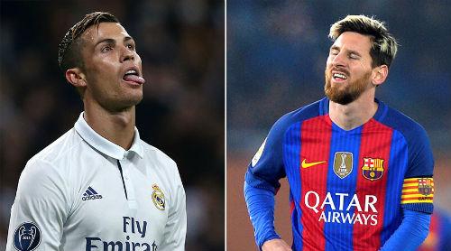 Ông hoàng tiền bạc: Kinh điển Ronaldo - Messi thu nhỏ