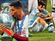 Ronaldo  & amp; Messi ở ĐTQG: Người hùng và  đứa con ghẻ